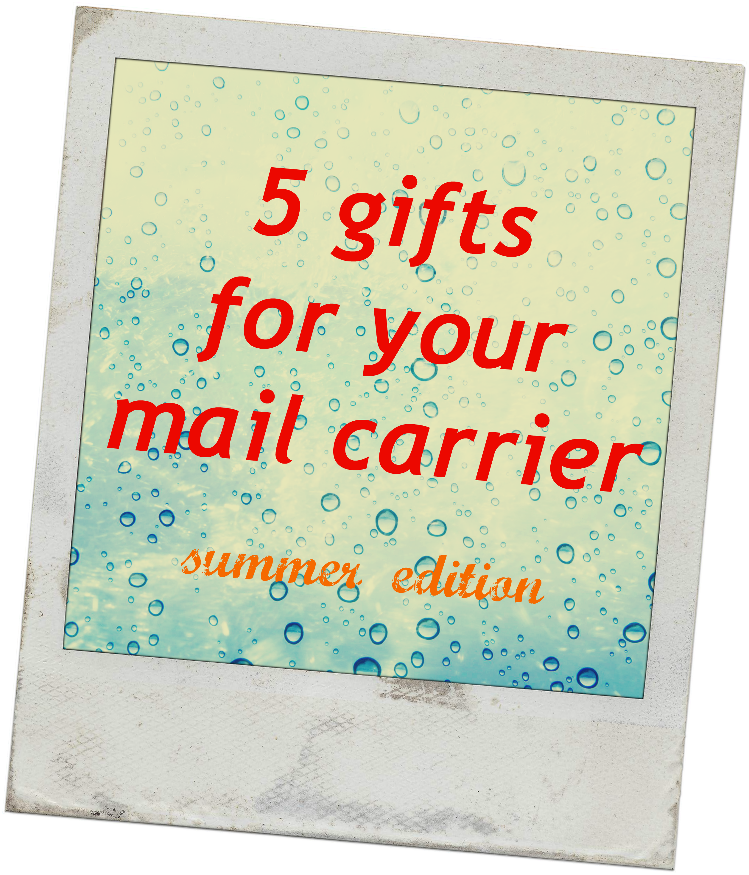 mail carrier gifts – The Little Red Flag