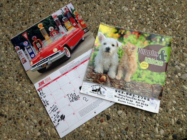 Envelopes-Calendars